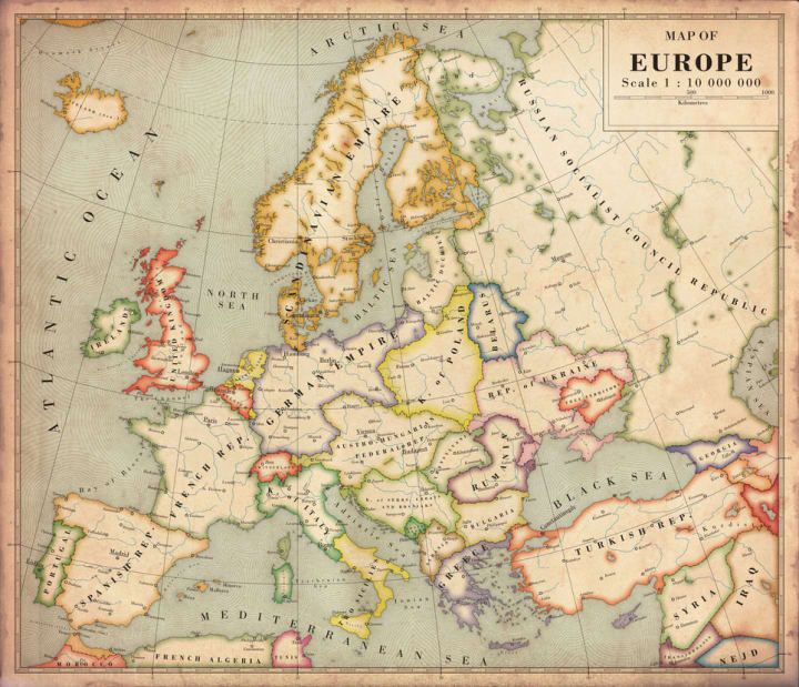 2502 best maps images on pinterest maps antique maps and history 22 perfect maps of places that dont actually exist gumiabroncs Images