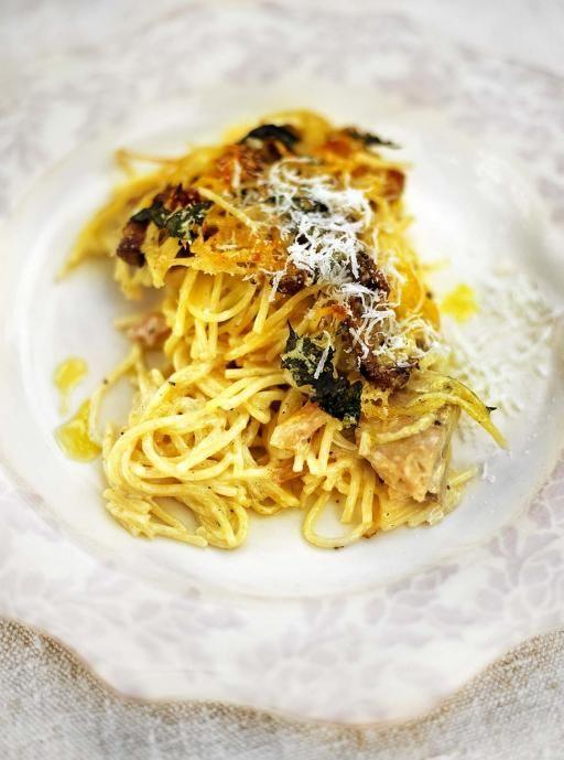 Chicken pasta alfredo recipe jamie oliver