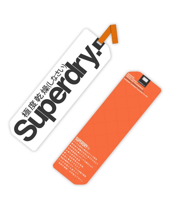 Superdry Shirt Tag on Behance