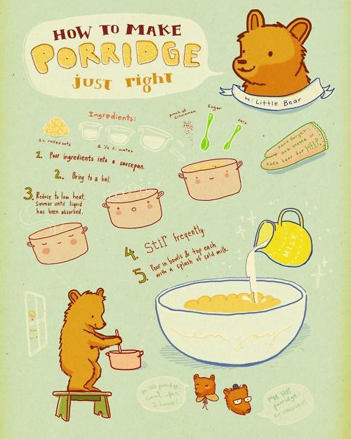 how to make porridge JUST right