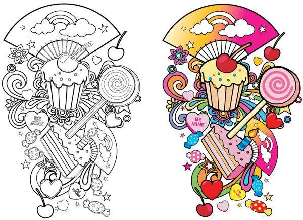 inspiration   candy tattoos   Pinterest