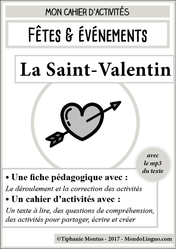 La Saint-Valentin | Mondolinguo - Français