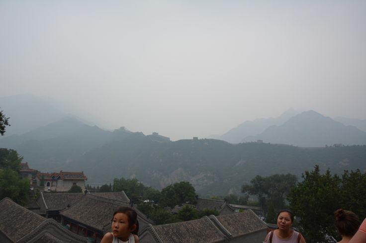 The Great Wall of China, Juyongguan part close to Beijing hidden in smog, photographer-Tereza Večerková