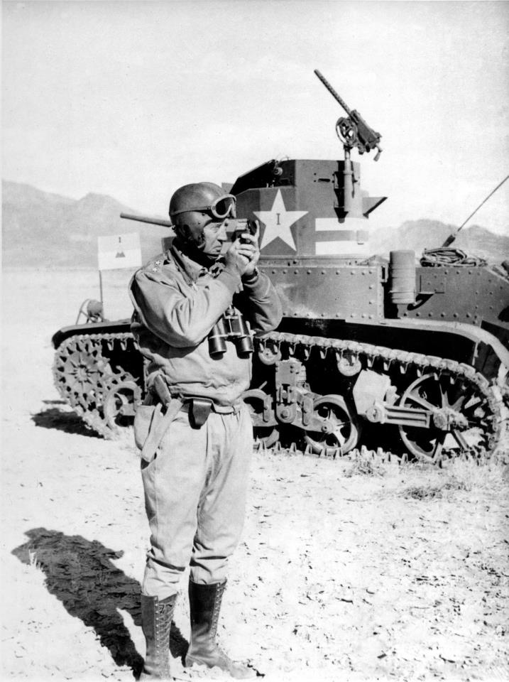 General George S. Patton (WWII Soldiers)