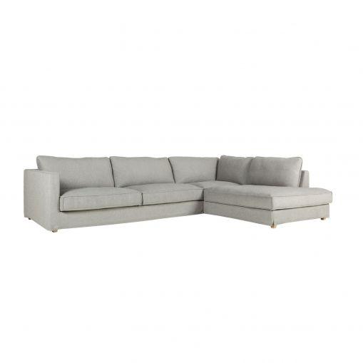 Угловой диван Cloud правосторонний трехместный купить в интернет-магазине дизайнерской мебели Cosmorelax.Ru