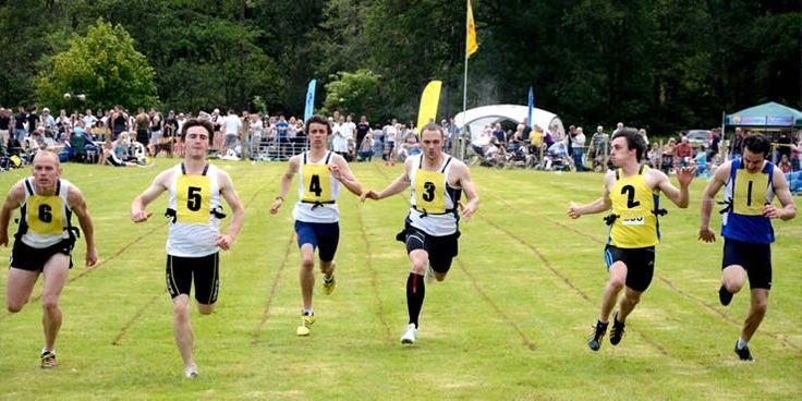 highland games athletics