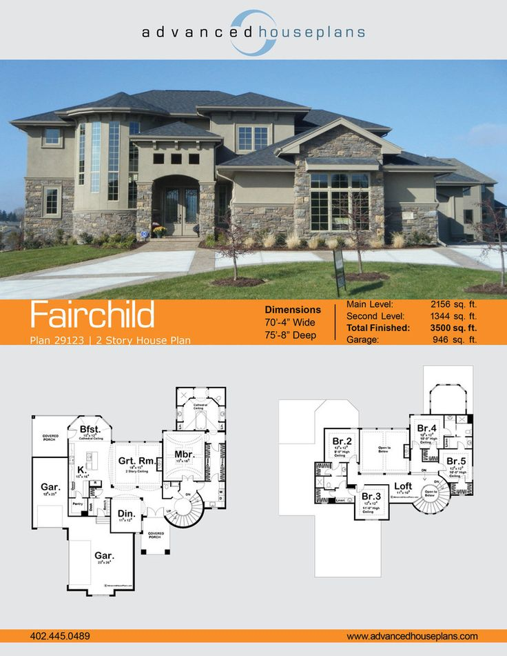 Fairchild 15 Story Mediterranean House Plan