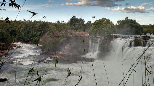 A mesma cachoeira