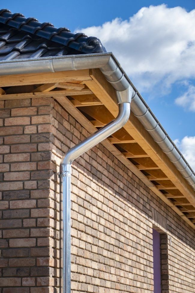5 Types Of Rain Gutters To Consider For Your Home Rain Gutters Rain Gutter Installation Gutters