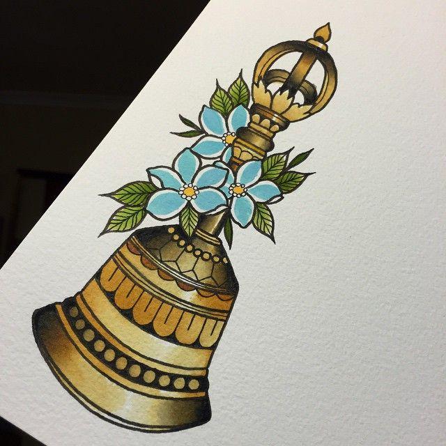 tibetan bell tattoo - Google Search