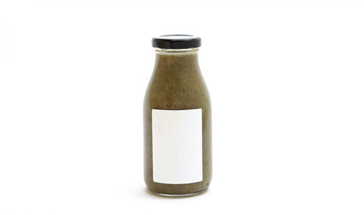 Sopa de brócoli y col rizada