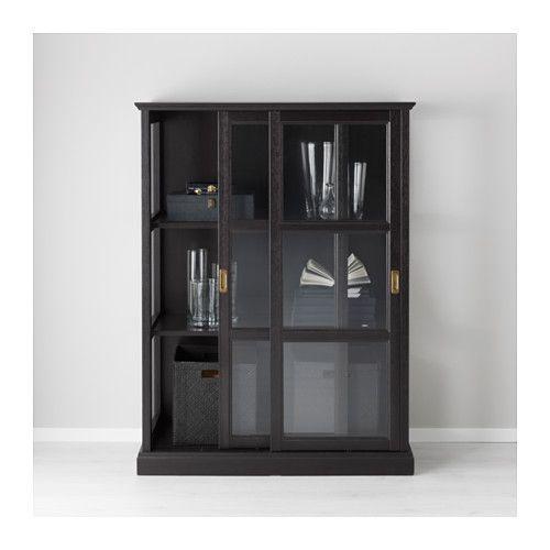 "MALSJÖ Glass-door cabinet - 40 1/2x55 1/2 "" - IKEA"