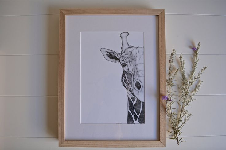 Georgi the Giraffe by TayloredDots on Etsy