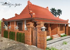 desain rumah jawa limasan. | desain rumah, rumah, dekorasi
