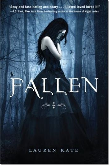 Fallen by Lauren Kate. Suspected in the death of her boyfriend, seventeen-year-old Luce is sent to a Savannah, Georgia, reform school where she meets two intriguing boys and learns the truth about the strange shadows that have always haunted her.
