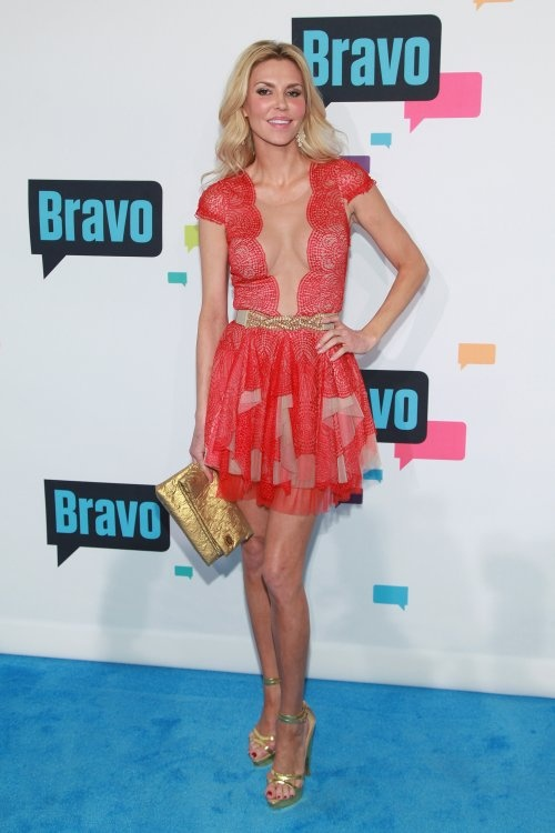 Brandi Glanville PHOTOS: Bravo Reality TV Stars Attend 2013 Upfronts - Real Housewives of New Beverly Hills
