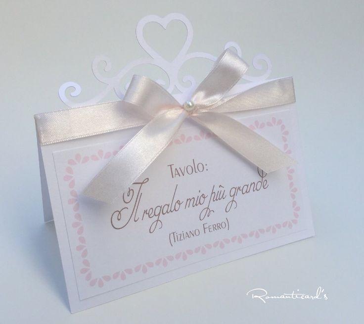 Segna tavolo per matrimonio by romanticards, by Romanticards e Little Rose Handmade, 2,20 € su misshobby.com