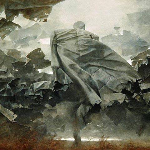 Zdzisław Beksiński/Untitled/1988 #zdzislawbeksinski#zdzisławbeksiński #beksiński #instaart #instagood #art#painting#oilworks #paintings#canvas #artwork#museum#modernart#artwork#artoftheday #dmochowskigallery #polishart #pic#bestoftheday#artgallery#artsy #goodnight#goodart#darkartist