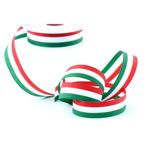 Varie - Nastro Bandiera Italiana mm.10 metri 20 - un prodotto unico di raffasupplies su DaWanda