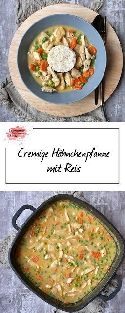 Cremige Hähnchenpfanne mit Reis | Rezept | Kochen | Essen | Weight Watchers
