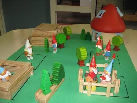 Sprookjesbos bouwen