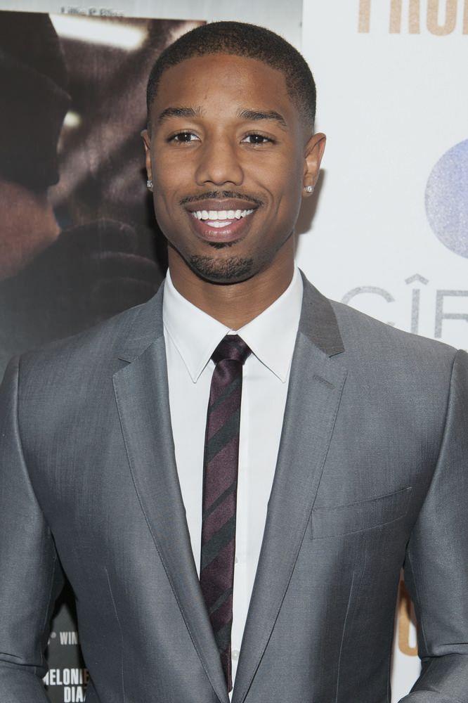 black men clean and short hair