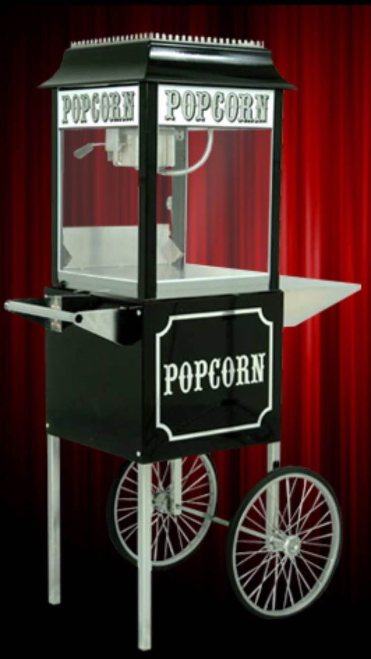 An absolute must for any entertaining space!  Popcorn Machine & Cart on sale for $1,446.