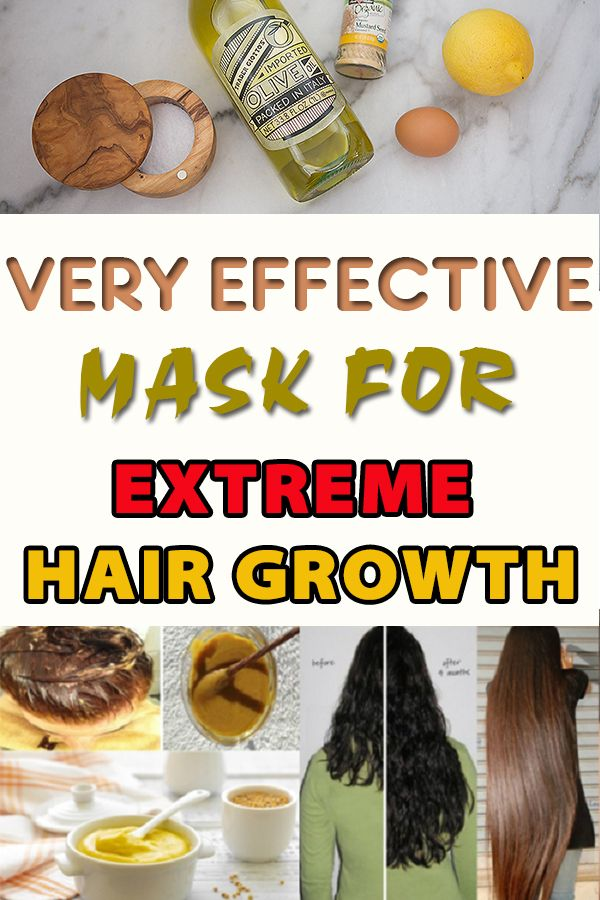 Very Effective Mask for Extreme Hair Growth