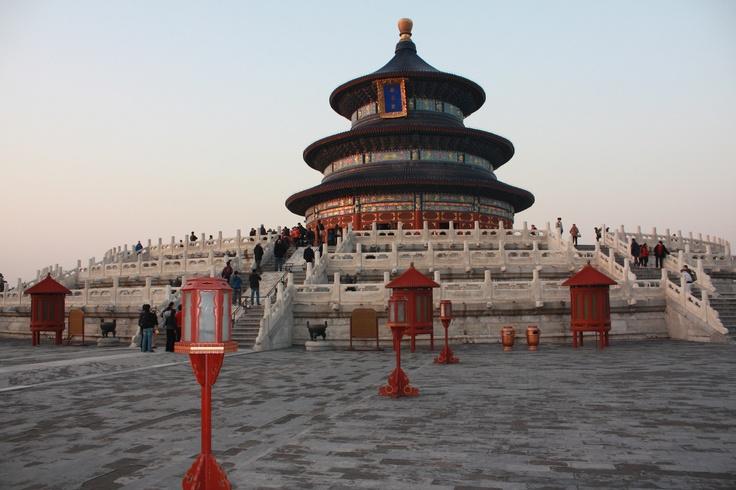 Peking. Temple of Heaven