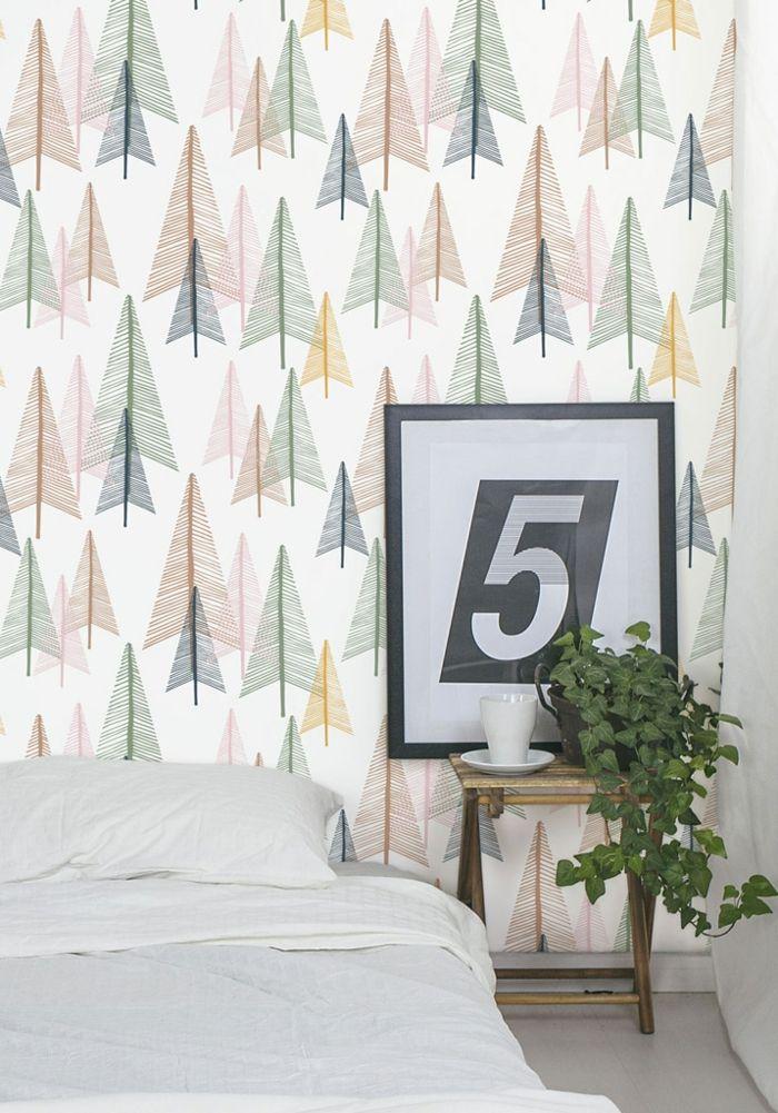 les 25 meilleures idées de la catégorie papier peint scandinave