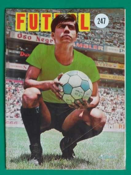 1967 Leon Luis Estrada Revista De Futbol Coleccion De Oro