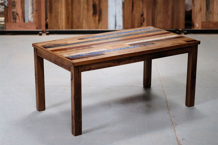 Apartment size table - Scattered colours and inlays. Price n/a.