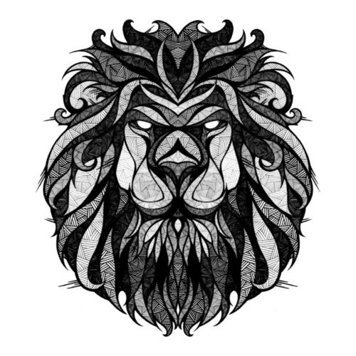 Love this style of illustration. #Leo