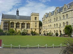 Pembroke College- Oxford University. Tolkien was professor of Anglo-Saxon at Pembroke. (this college is across the road from Christ Church college, where CS Lewis worked.)