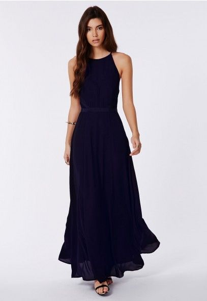 Kamilinka Side Lace Open Back Maxi Dress In Beige - Dresses - Maxi Dresses - Missguided | Ireland