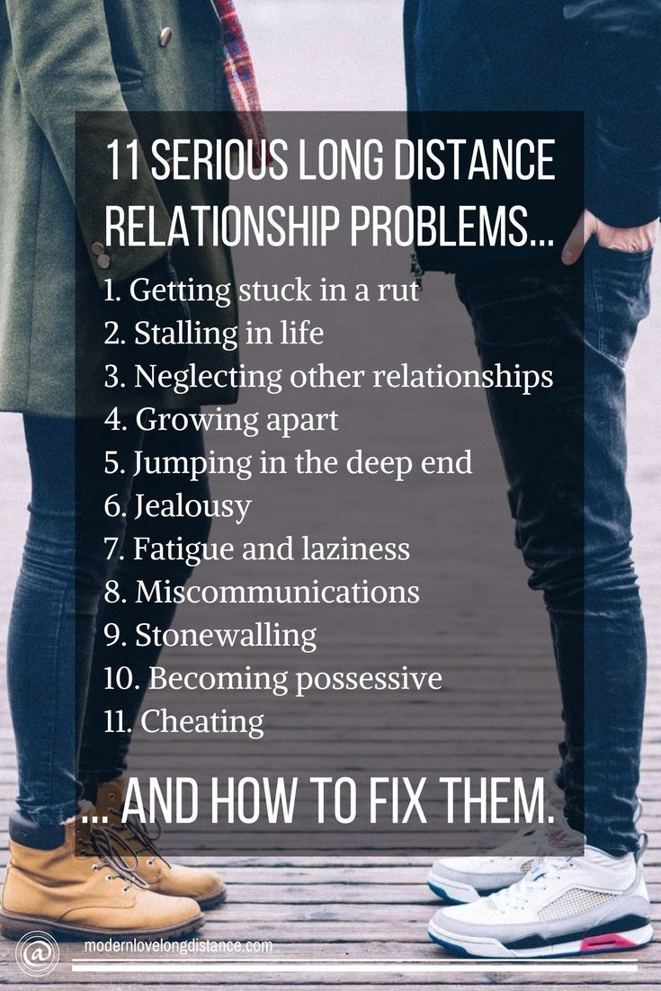 common relationship problems and how to solve them