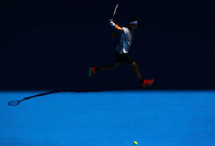 Australian Open 18-Jan Roger Federer vs Noah Rubin