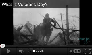 Video: What is Veterans Day? + Extension Activities for Grades 9-12