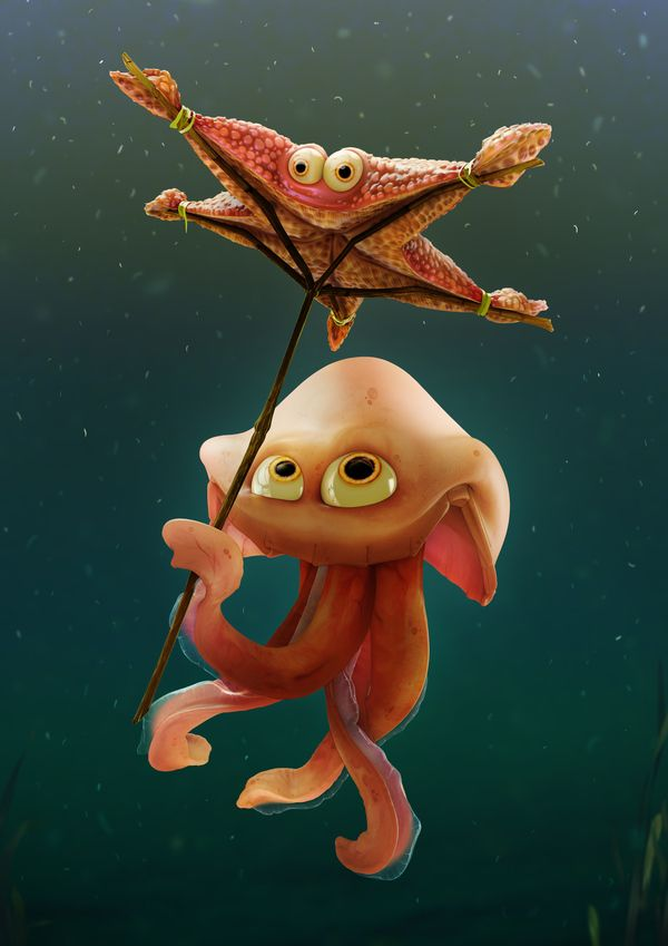 Characters 'II by Patryk Habryn, via Behance
