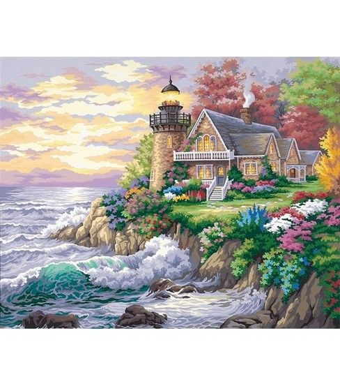 Dimensions Paint By Number Kit 20 X 16 Guardian Of The Sea Art Supplies Painting