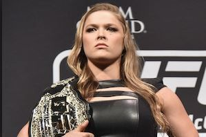 Ronda Rousey's reaction to Miesha Tate's win was typical Ronda Rousey