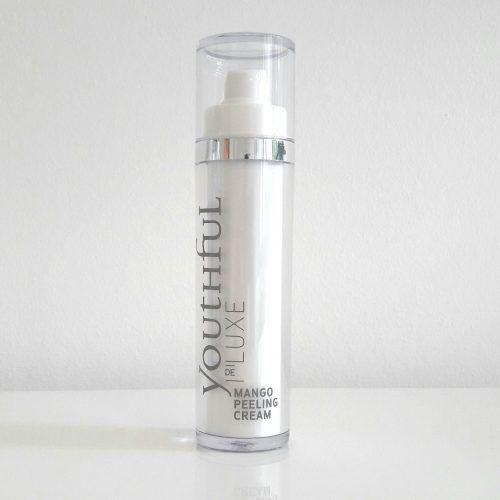 Nach Mango duftendes Enzympeeling - Mango Peeling Cream von Youthful Cosmetics. Streichelzarte Haut. Selbst für empfindliche Haut geeignet.