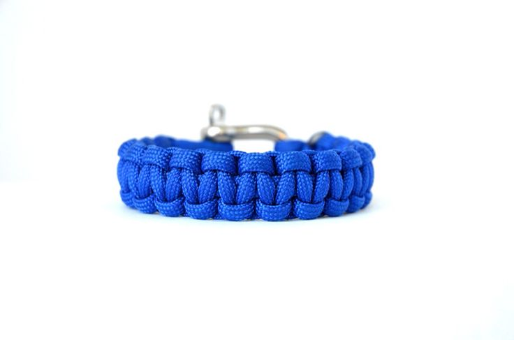 Electric Blue // Paracord Survival Bracelet | Blue symbolizes confidence, integrity and loyalty. This has been our most popular colour choice as multiple clients have been attracted to this vibrant, seductive blue. Our intention with this design is emulate the sense of excitement and freedom you achieve when looking out into the vast ocean. This is a captivating statement piece, a consistent best seller and a Beacon team favourite.  #Paracord #FunctioningWithStyle #BeaconLaunch2015