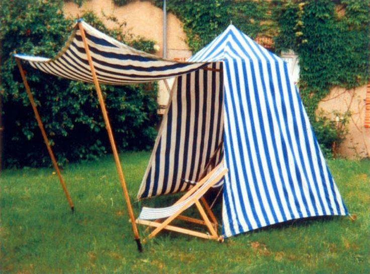 17 meilleures id es propos de tente plage sur pinterest for Cabine de plage en bois pour jardin