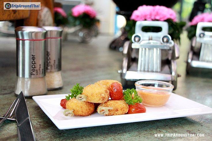"""ชิมกันไปกับแพรรี่สายกิน วันนี้มาเยือนที่ห้องอาหารสไตล์เก๋ๆ """"คาดิคาดิลแลค คาเฟ่ """" (Cadillac Café) ณ โรงแรมเวฟ พัทยา (Wave Hotel Pattaya ถนนเลียบชายหาดพัทยา  https://goo.gl/9y9V3T"""
