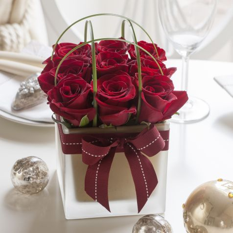 Red Rose Cube: