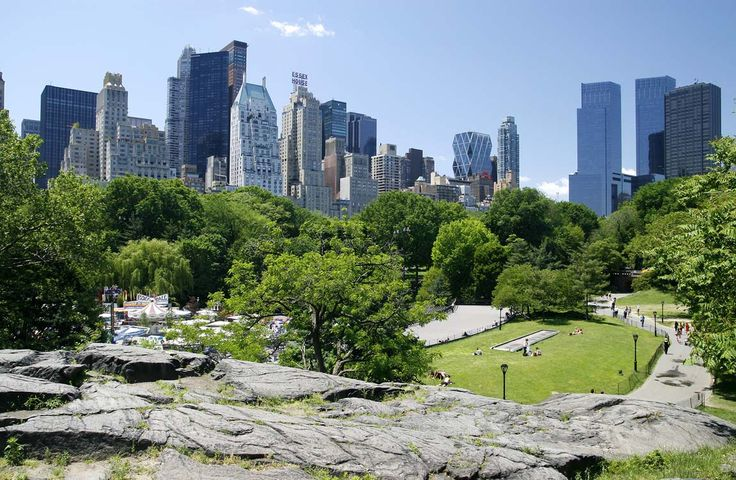Central Park, New York - I always love a park in the middle of the city and central park is one of the really nice ones.