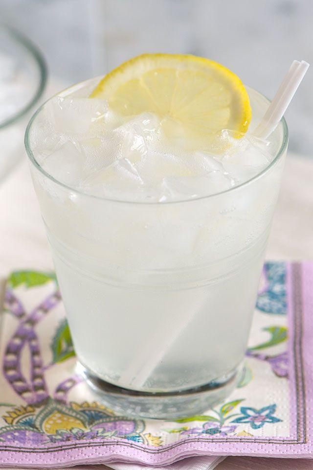 Classic Gin Fizz Cocktail Recipe from inspiredtaste.net