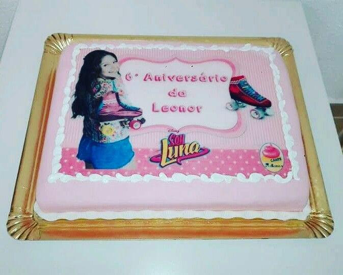 Bolo decorado Soy Luna Faça agora a sua encomenda...