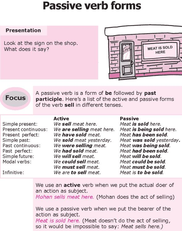 1000+ images about Passive on Pinterest | We, Grammar lessons and ...